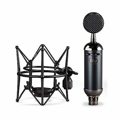Blue Spark SL XLR Condenser Blackout Microphone for Pro Recording and Stream