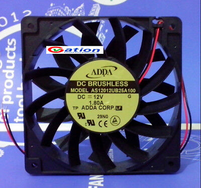 for ADDA AS12012UB25A100 Axial flow fan DC12V 1.80A 120*120*25mm 2pin