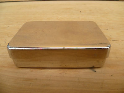 Vintage Old Small Size Metal Silver Colour Case, Box