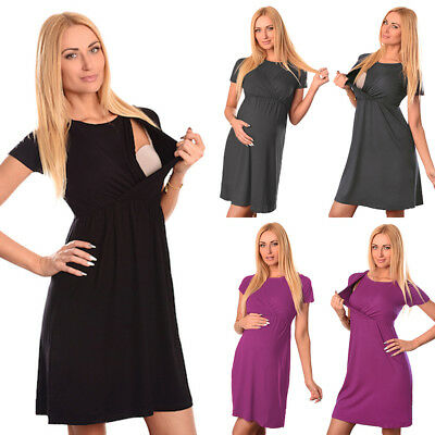 WOMEN\'S PLUS SIZE Maternity Nursing Pajamas set, black size ...