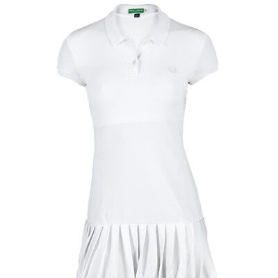 Fred Perry Womens Tennis Dress With Collar.bnwt. Colour. White. Size. 16