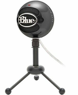 USB Adjustable Mic Stand Blue Microphones Snowball Cardioid black Microphone