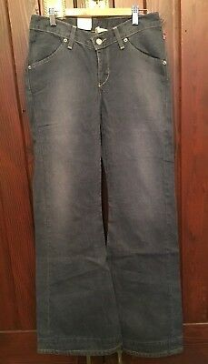 "Vintage Levi Flares Jeans New (Sample) Blue/grey Size 32""waist Made In Australia"