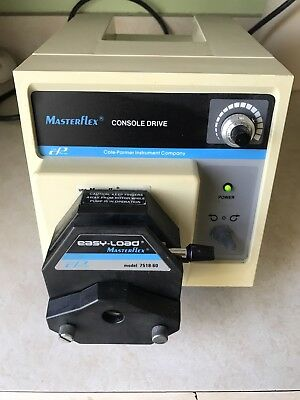 Cole-Parmer 7521-40 Masterflex Peristaltic Pump Drive with Easy-Load Head