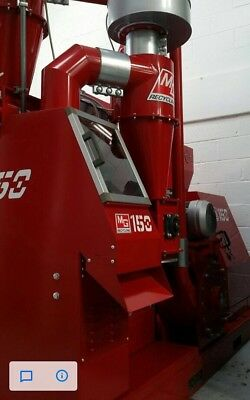 Cable Granulator Shredder MG150 With Wagner Pre-shredder And Turbo mill