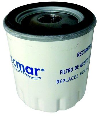 Oil filter for Volvo Penta D1-30 D2-40 D2-55 MD2030 MD2040 RO: 3840525 3581621