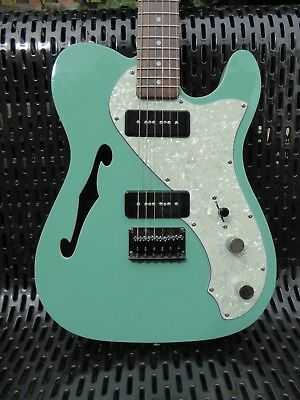 Richwood Thinline Tele with P90s with Gotoh Tuners