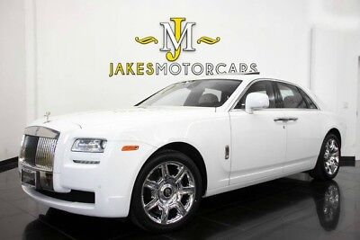 2011 Rolls-Royce Ghost  2011 Rolls-Royce Ghost, WHITE ON WHITE,  25K MILES, BLACK PIANO WOOD, PRISTINE!