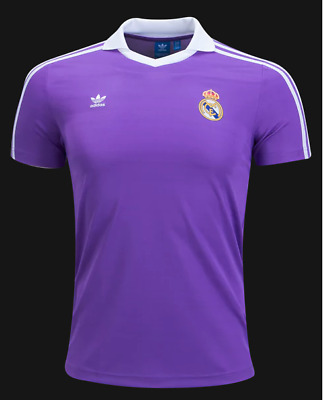 59f7a0228 New Official Adidas Originals Real Madrid Retro OG Jersey BS2369 Men s Size  (L)