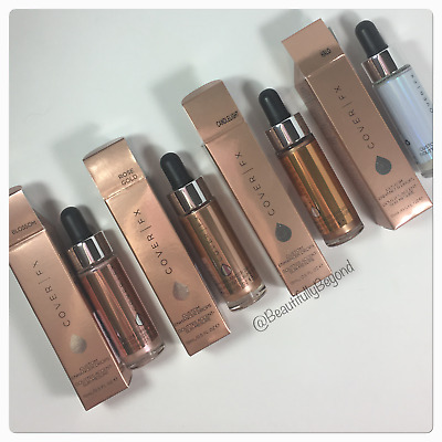 Cover FX Custom Enhancer Drops - Authentic - Full Size! Choose Shade!