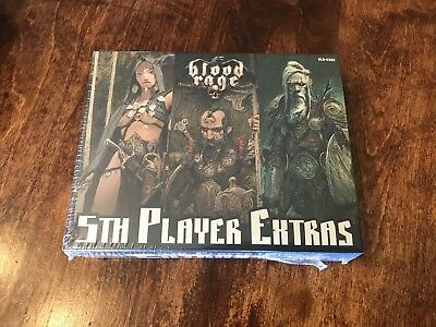 Blood Rage New by CMON in Eng//Ita Quinto Giocatore 5th Player Expansion