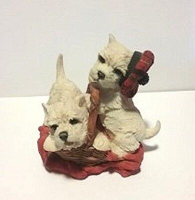 Retired West Highland Terrier Figurine CA 02261 from Country Artist