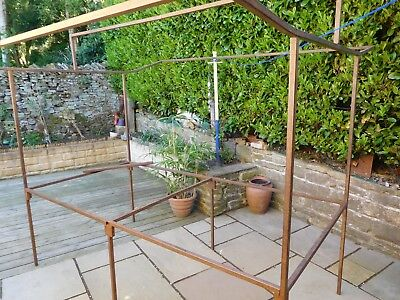 Market stall car boot, shows,fetes, metal frame 8ft x 4ft used but strong