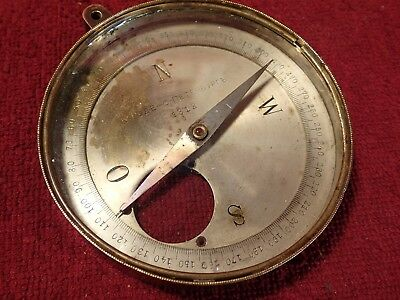 Scarce ! Antique K.rode Compass Imperial Russia Russian Petersburg Peterburg