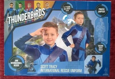 Thunderbirds International Rescue Role Play Uniform