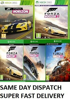 Forza Horizon Xbox one Xbox 360 1 2 3 Assorted MINT - FAST DELIVER
