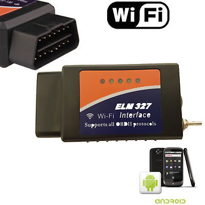 ELM327 WiFi OBD2 Diagnostic Scanner Scan Tool with Modified Switch