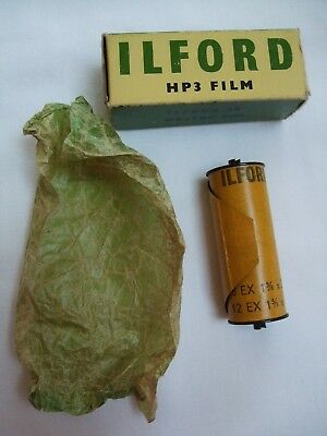 Vintage Ilford HP3 127 Film - Dated March 1962