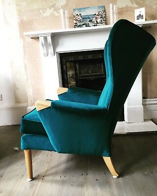 Vintage Parker Knoll Wingback Chair : parker knoll wing chair - Cheerinfomania.Com