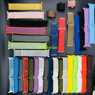 Milanese Nylon loop Nike Sport Belt Band Strap for Apple Watch 1 2 3 4 38mm 42mm