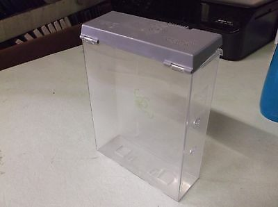 """10 Security Alpha Cases, Used, No Key, 7"""" x 5 1/4"""" x 1 1/2"""""""