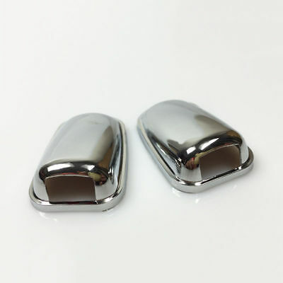 Bmw Mini Jaguar  Porsche Land Rover Chrome Windscreen Washer Jets Caps Upgrade
