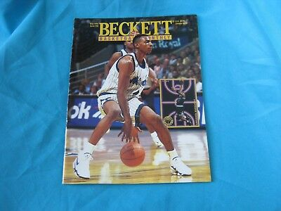 Basketball Beckett Monthly May 1994 Issue #46 Anfernee Hardaway / Isaiah Rider