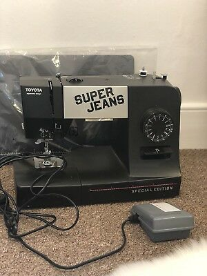 Toyota Super Jeans Sewing Machine SUPERJ15PE
