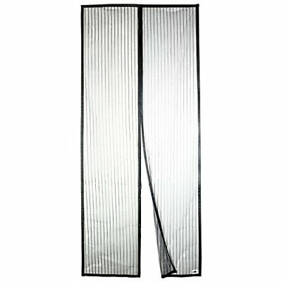 """Apalus Magnetic Screen Door 36""""x83"""" Super Strong Fly Mesh 28 Magnets From Top to"""