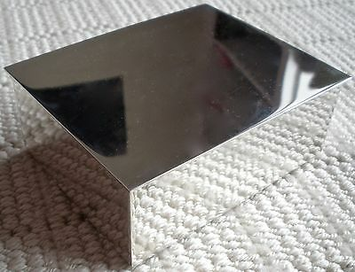 Tiffany & Company Makers Marked Sterling Box Retails For $2000. On Website