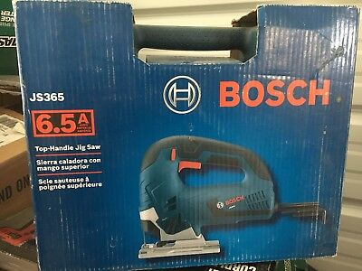 Bosch JS365 - 6.5 Amp Corded Variable Speed Top-Handle Jig Saw new in box
