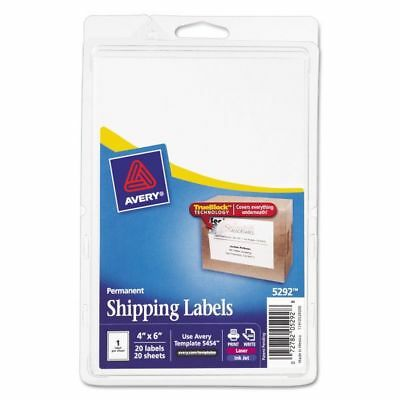 Avery Shipping Labels Pack