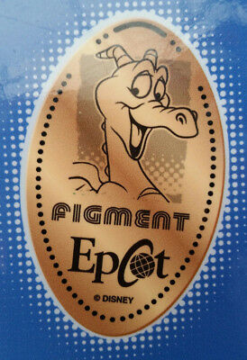Disney World Pressed Smashed Elongated Penny Figment EPCOT   P14