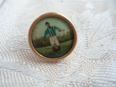Antique vintage football sporting dress gold sport buttons original old case box