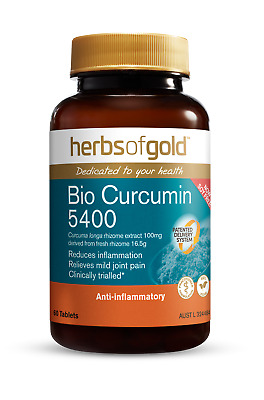 Herbs Of Gold  - Bio Curcumin 4800 - Natural Relief Of Pain And Inflammation