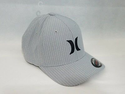 quality design 0dd15 8a455 Hurley mens Iconic baseball cap hat NWT Green Gray Flex Fit L XL Nike Dri