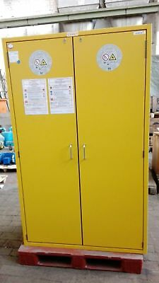 gaerner/asecos Hazardous Material Cabinet Type 90, Fire Resistant /
