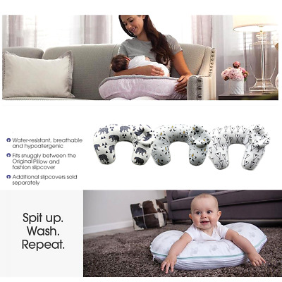 AU Breastfeeding Nursing Baby Support Cushion Breast Feeding Pillow Detachable