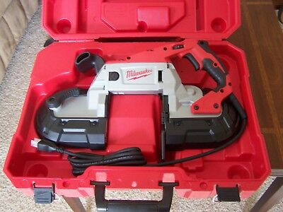 NEW IN BOX Milwaukee Deep Cut Variable Speed Band Saw Kit 6232-21 W HARD CASE
