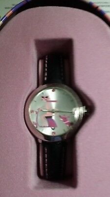 Collectible Vintage Pink Panther 40th Anniversary Watch in Tin
