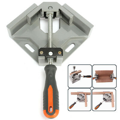 US 90° Right Angle Clamp Adjustable Corner Vise for Wood Engineering Welding