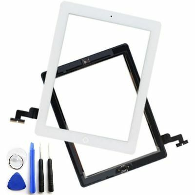 For iPad 2 3 4 5 6 Air Mini 1 2 3 Touch Screen Digitizer Replacement w/ Adhesive