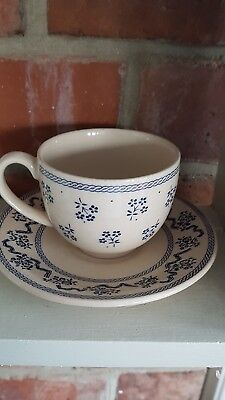 Petite Fleur Johnson Brothers cup and saucer Laura Ashley
