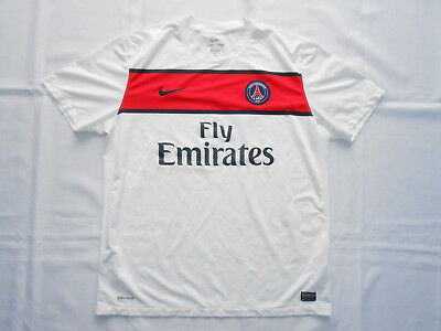 PSG Paris Saint-Germain Nike 2011/2012 Football Shirt Jersey Trikot Maglia sz XL