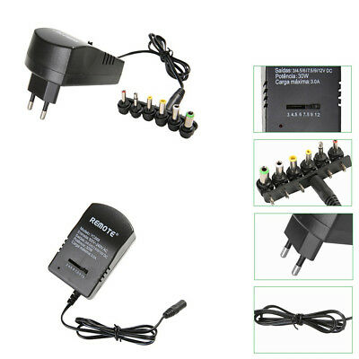 3-12V AC/DC Universal Adjustable Power adapter  Power Supply Plug Charger