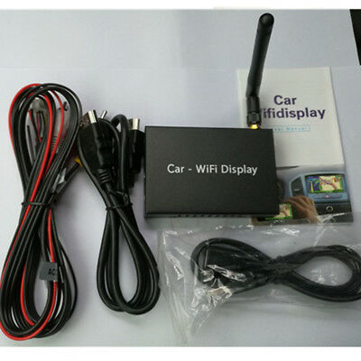Car Smartphone Screen Miracast Airplay WiFi Mirror Link Adapter For Android IOS