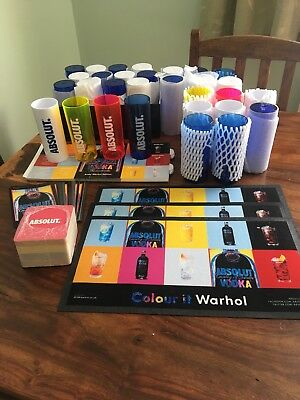 Absolut Andy Warhol Set Brand New and Unused