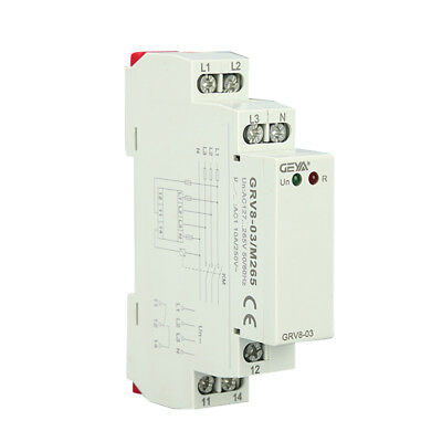 Three Phase Voltage Monitoring Relay Phase Sequence AC 127-460V