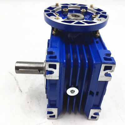 Industrial 050 Worm Gear 50:1 Speed Reducer 80B14 25mm Single Output Shaft