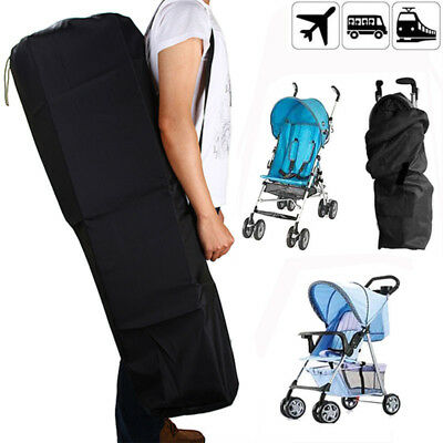 Pram Gate Check Travel Bag Baby Umbrella Stroller Buggy Pushchair Carrying Cover